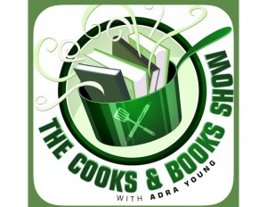Cooks and Books Show logo