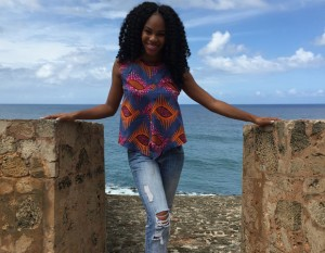 Amber Cuff, Howard U. alum and former London exchange student