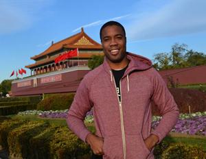 Photo of Andrew Gordon in Beijing, China