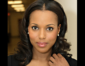 Head shot of actress Kerry Washington
