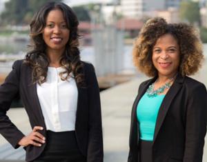 Sorority sisters and entrepreneurs Selena Young and Shauna Harper