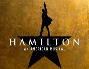 Press image of Broadway's Hamilton