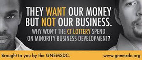 GNEMSDC CT Lottery Billboard