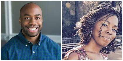 Headshots of Adrian Grant and Patrice Drew, founders of SENNA