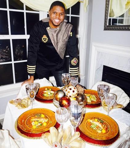 Celebrity Chef J.R. Robinson