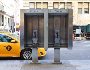New York City pay phone