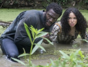 Screen shot from John Legend TV series Underground