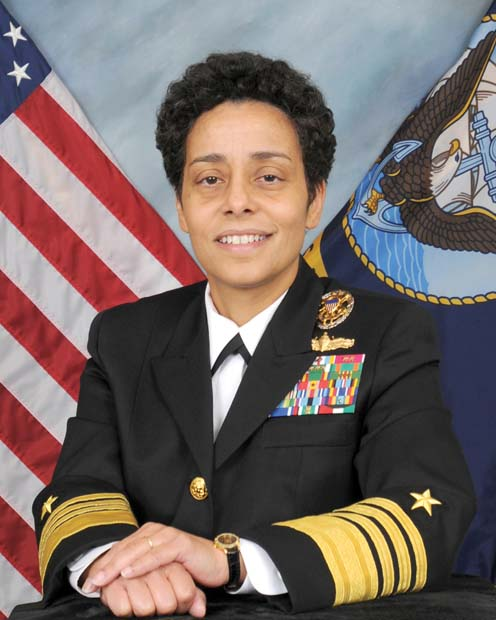 Michelle J. Howard, four-star admiral and 38th Vice Chief of Naval Operations