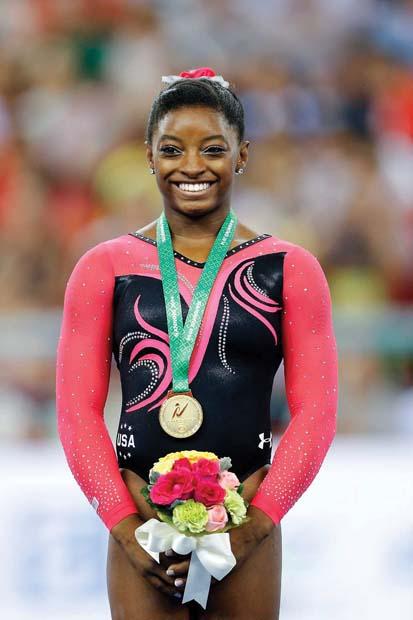 Simone Biles, gymnast