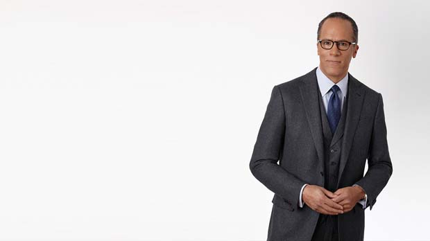 LESTER HOLT, Broadcast journalist