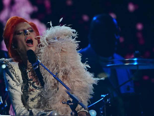 Lady Gaga-David Bowie tribute-Grammys