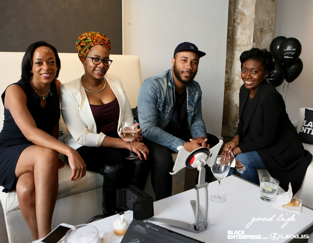 "Guests enjoyed cocktails and networking at Black Enterprise and Lexus ""The Good Life"" event."