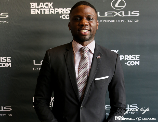 "HBCU Buzz founder Luke Lawal, Jr. attends ""The Good Life"" event."
