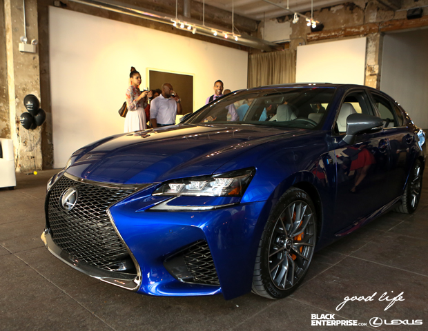 A closer look at Lexus latest 2016 GS model.