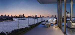 Miami Beach Multi-View, Oversized, Wrap-Around Balcony_T.Bernie