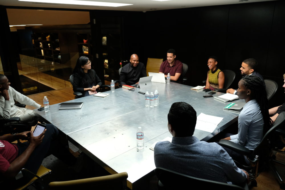 HBCU.VC Fellows Meeting with Cross Culture Ventures (Image: Tyrone Smith)