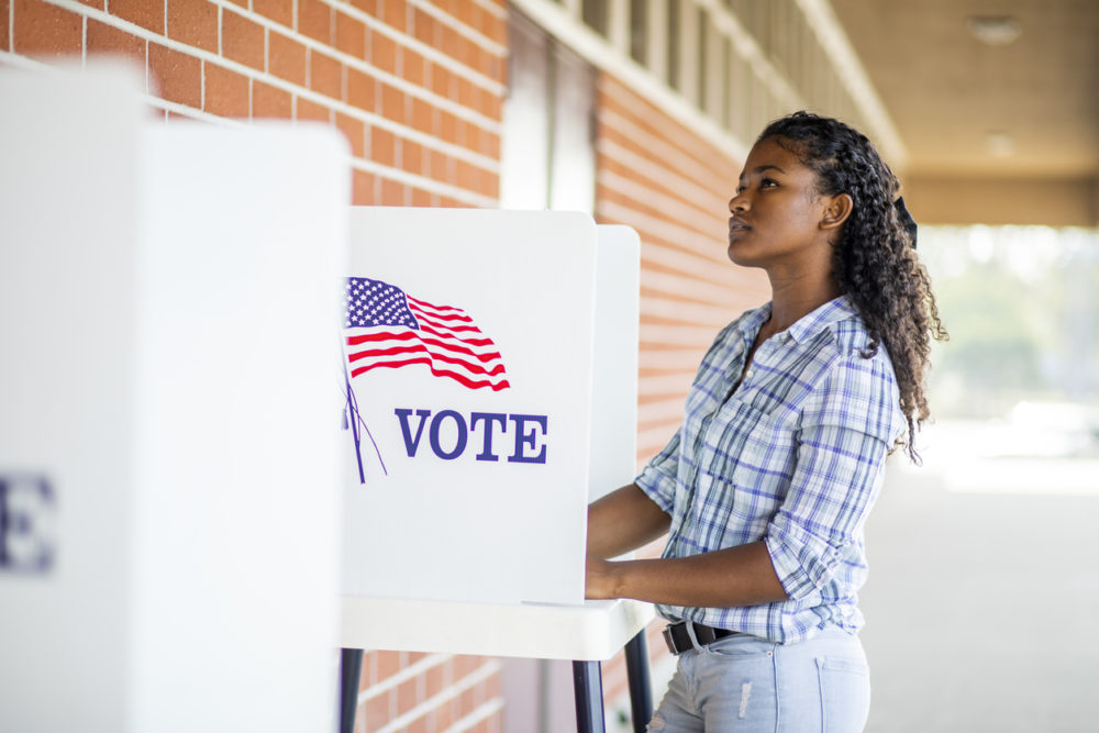 Black Americans Voting