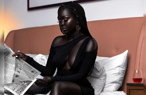 model Nyakim Gatwech