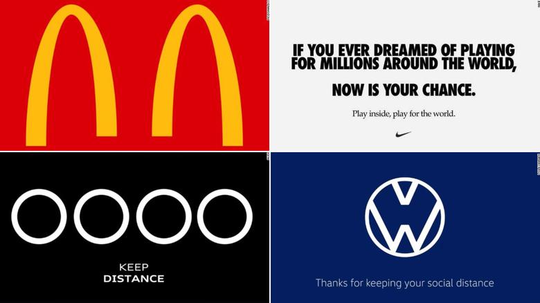 Social distancing brands