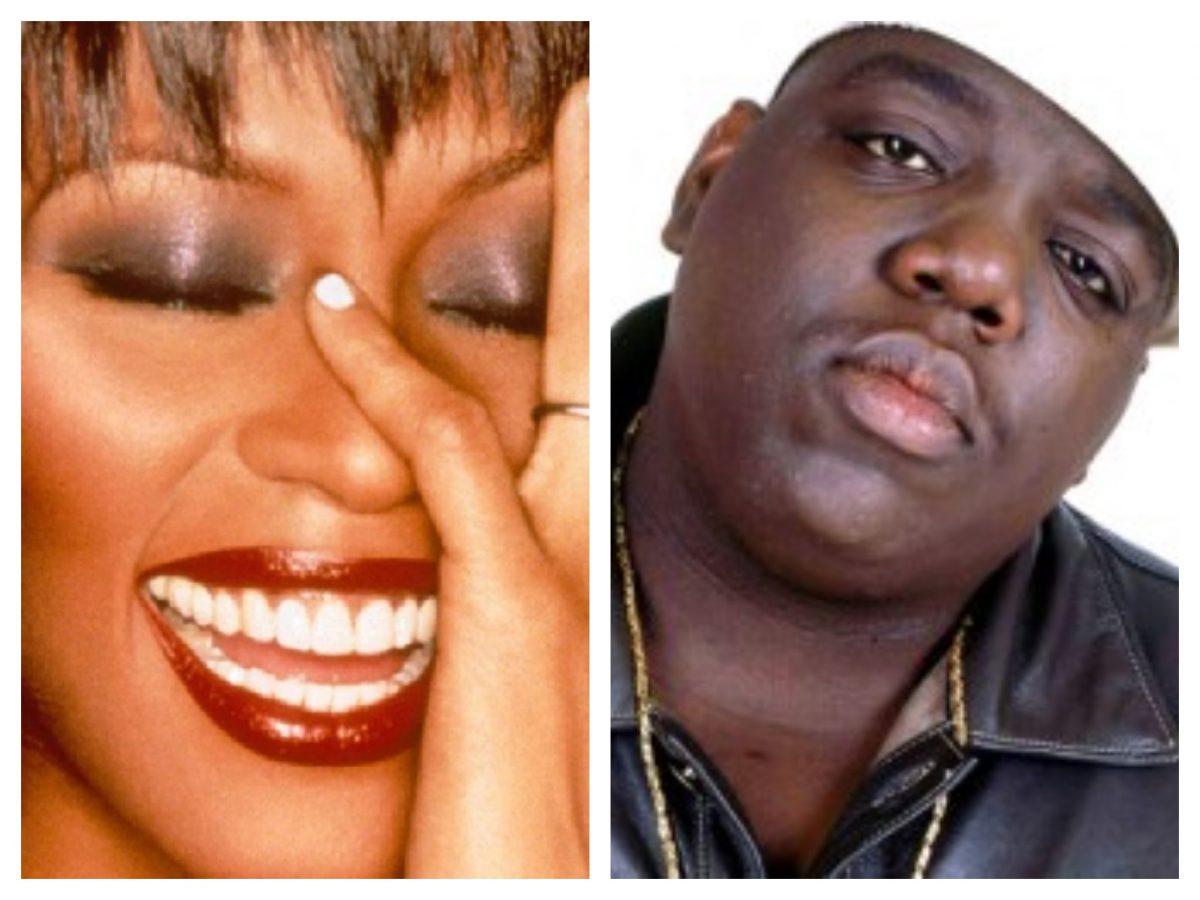 Whitney Houston The Notorious B.I.G.