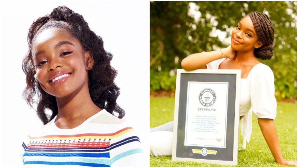 Marsai Martin Guinness World Records